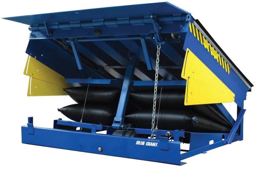 Loading dock equipment dock levelers dock lifts seals air bag dock leveler publicscrutiny Choice Image