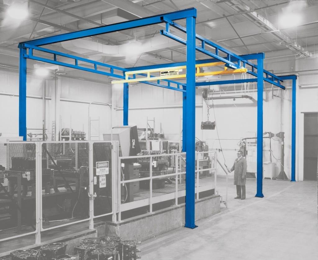 Workstation Crane Systems : Workstation crane beaton industrial inc