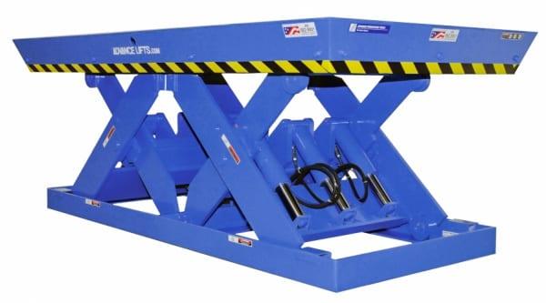 Double Long Scissor Lift Table OPT