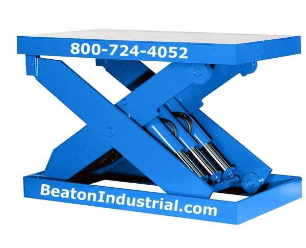 Heavy Duty Pneumatic Lift Arms : Hydraulic scissor lift table made in usa year warranty