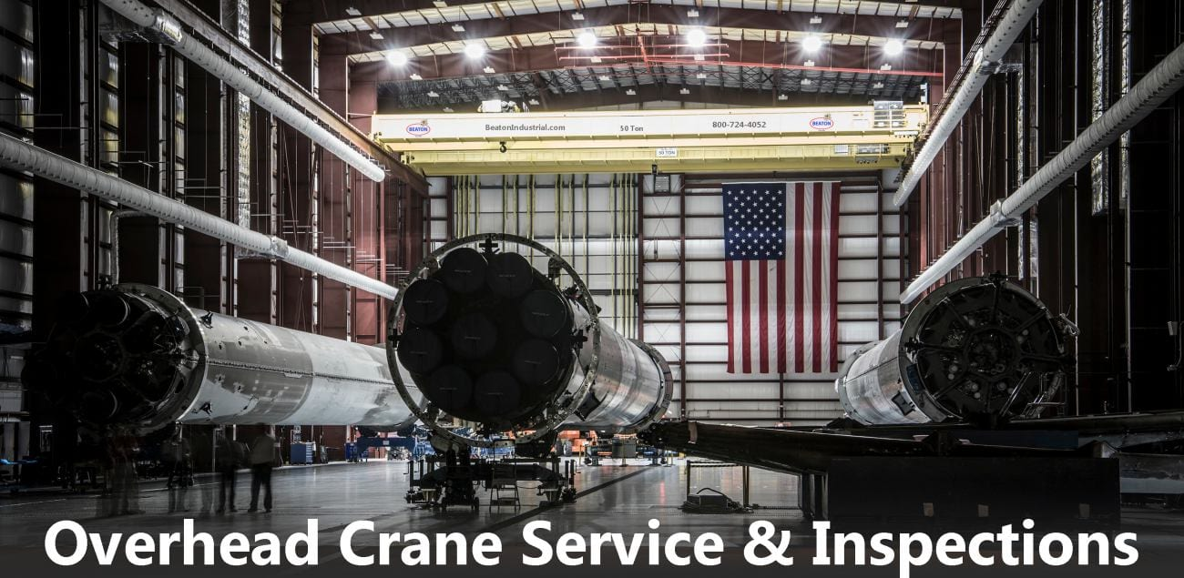 Overhead Crane Service and Repair for New York State
