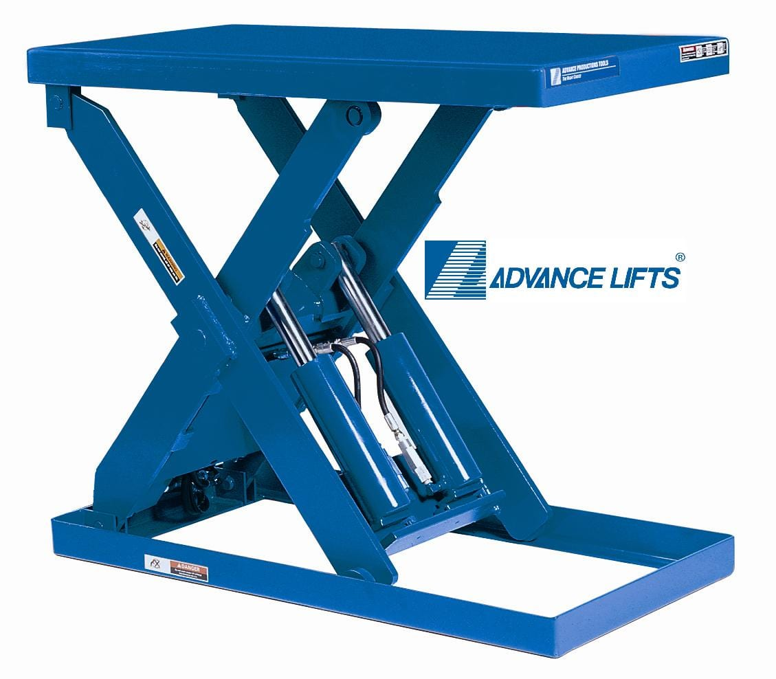 Hydraulic Scissor Lift Table Made In Usa 10 Year Warranty