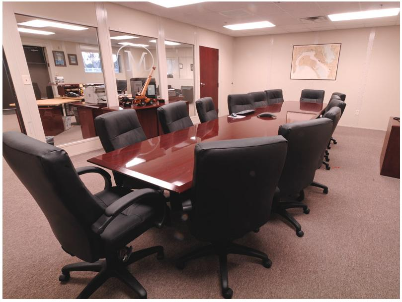 Inplant Office Boardroom by Starrco Modular Office Systems