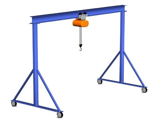 Gorbel Fixed Height Steel Gantry Crane