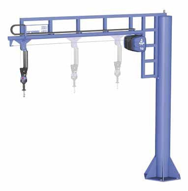 Gorbel G Jib Choose From Free Standing Or Wall Mounted