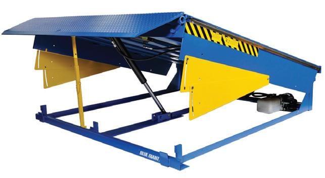 Hydraulic Loading Dock Leveler - Blue Giant U Series
