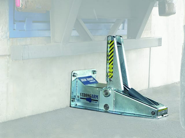 Vehicle Restraint System - Loading Dock Design Standards - Blue Giant SVR 303 StrongArm - Rite Hite