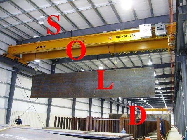 Overhead Cranes Dimensions : Ton overhead crane for sale beaton industrial inc