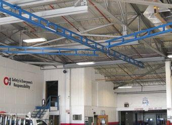 Superior Tether Track   Ceiling Mounted Monorail Systems   Beaton Industrial, Inc.