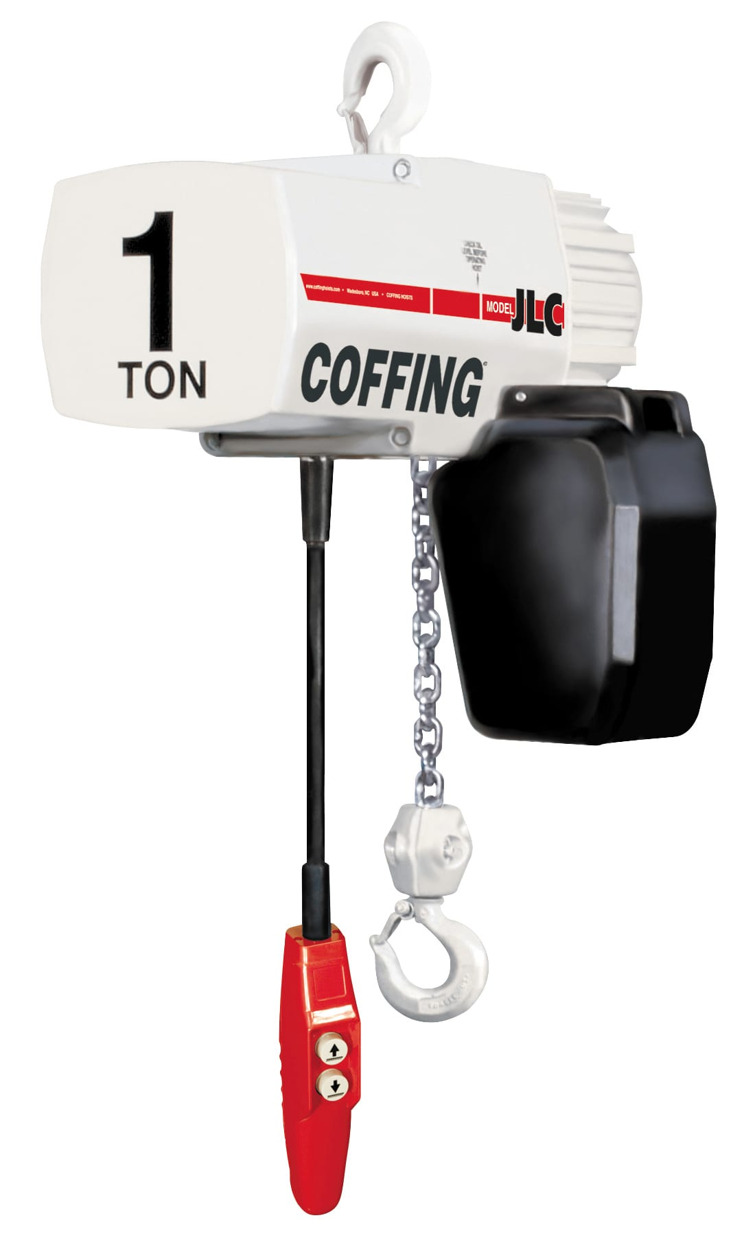 Coffing jlc series electric chain hoist sales and service for 1 4 ton chain motor
