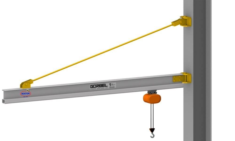 Jib Crane Mounting Brackets : Looking for jib crane design drawings