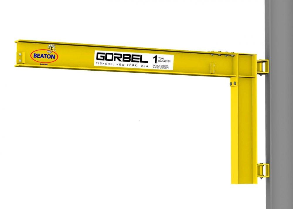 Jib Pole Crane : Looking for jib crane design drawings