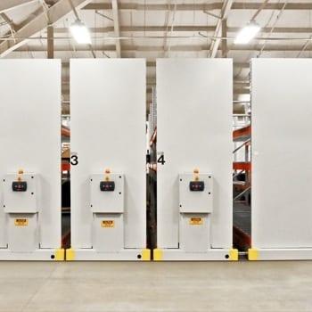 SafeRak 32 Industrial Powered Mobile Racking