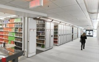 College Library Mobile Shelving System