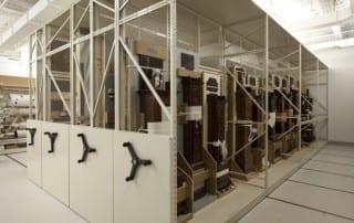 Harvard Fogg Museum Archival Mobile High Density Storage