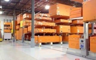 Safe Cantilever Rack