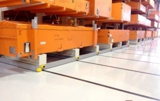 Mobile Cantilever Rack