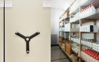 Pharmaceutical High Density Movable Mobile Storage Shelving
