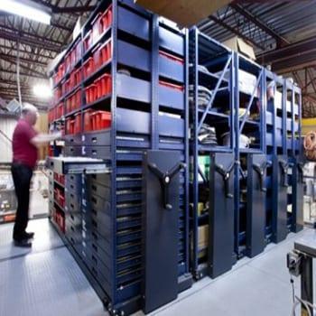 Rack & Roll 16 Compact Mobile Shelving