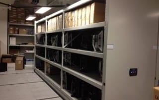 VA Medical Center Mobile Shelving